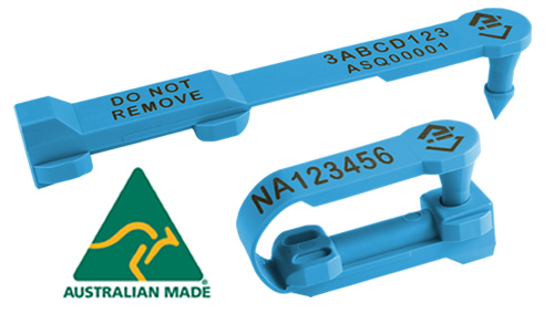 Australian Made Shearwell SET Tags